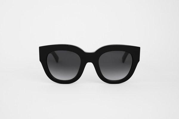 Unisex MONOKEL Cleo Sunglasses - Black