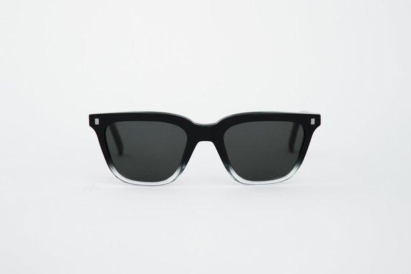 Unisex MONOKEL Robotnik Sunglasses - Black Crystal