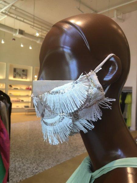MCMULLEN Sequin Fringe Mask