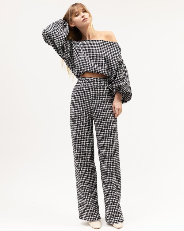 BEFORE MARCH Gloria Pant - Houndstooth