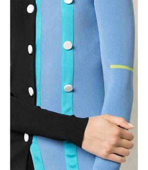 I Am Chen Button Cardigan - Blue