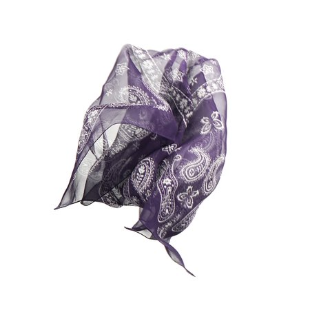 Needles Bandana Scarf - Purple