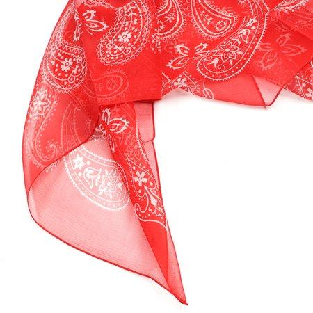 Needles Bandana Scarf - Red