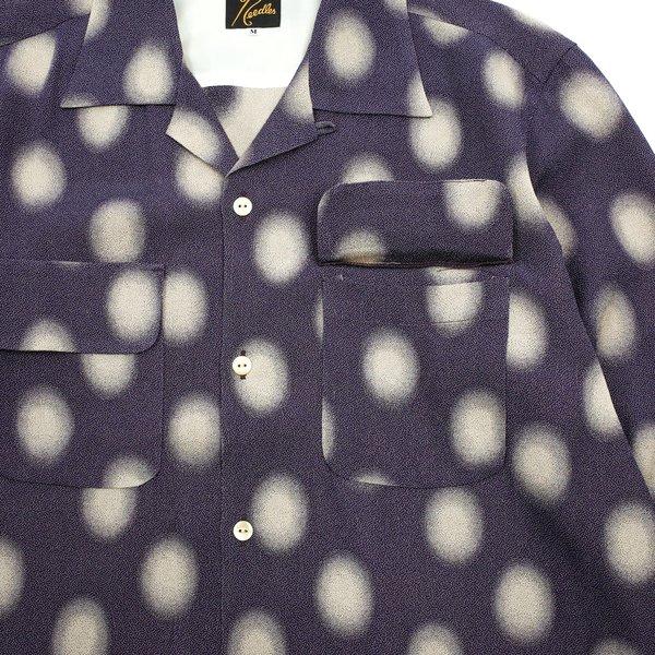 Needles Cut-off Bottom Classic Shirt - Polka Dot