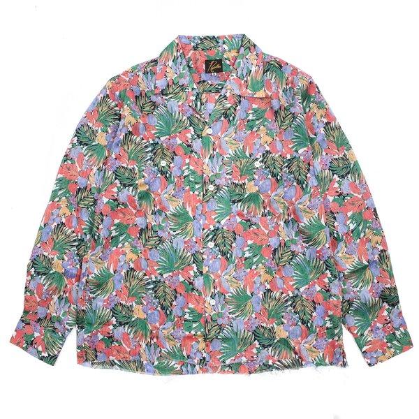 Needles Cut-off Bottom On Up Shirt - Navy/Pink
