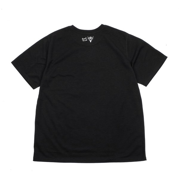 South2 West8 WONDERIN' CREW NECK TEE BLACK