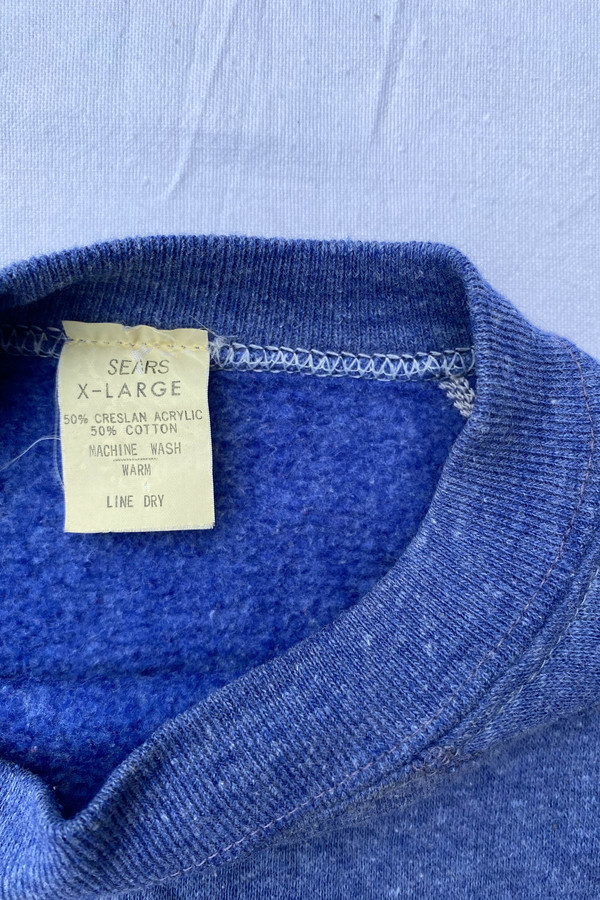 WOLF & GYPSY VINTAGE Sears Sweatshirt - bLUE