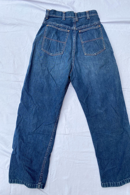 WOLF & GYPSY VINTAGE Blue Bell 1940s Jeans