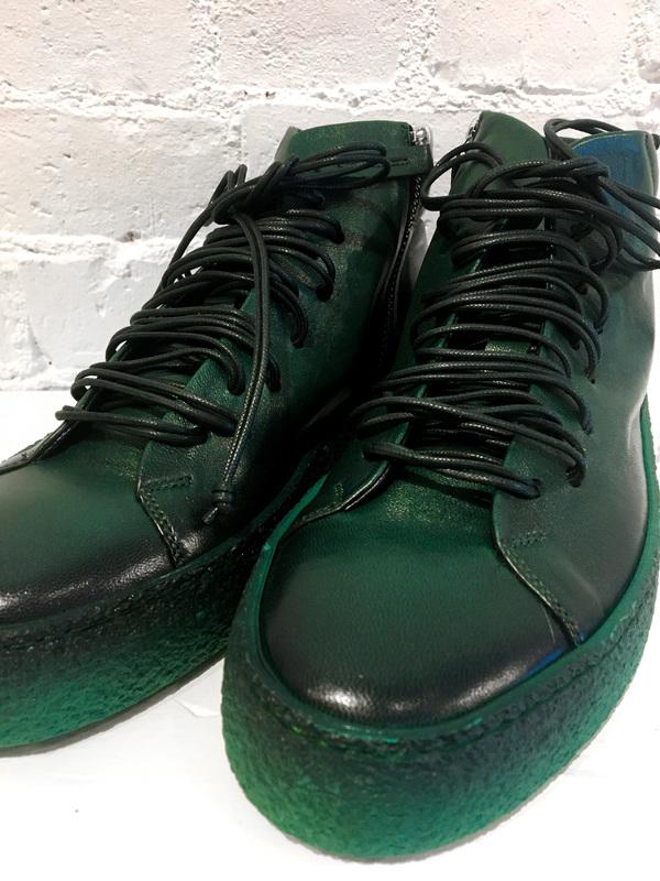Halmanera Amy High Tops - Green