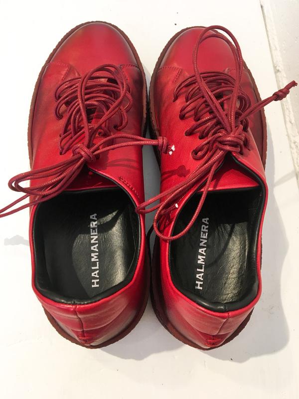 Halmanera Amy Low Top Sneakers - Red