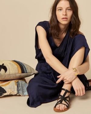 Sessun Ava Dress - Indigo