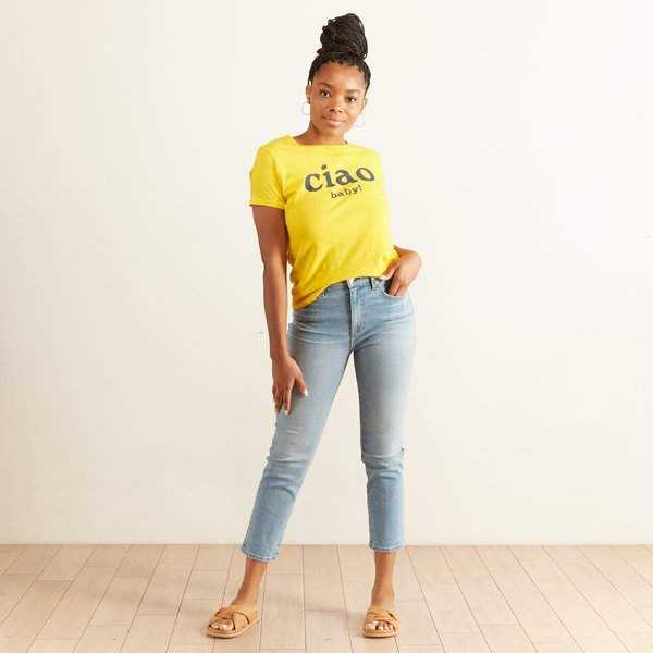 Mother Denim Lil Goodie Goodie Top - Ciao Baby!