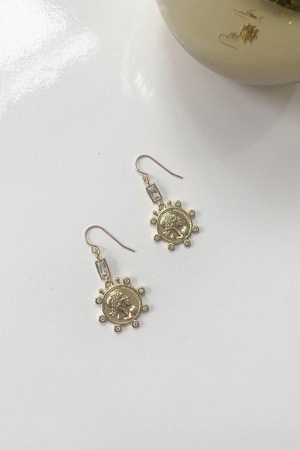 Charme Silkiner Livia Earrings - 14k Gold Fill