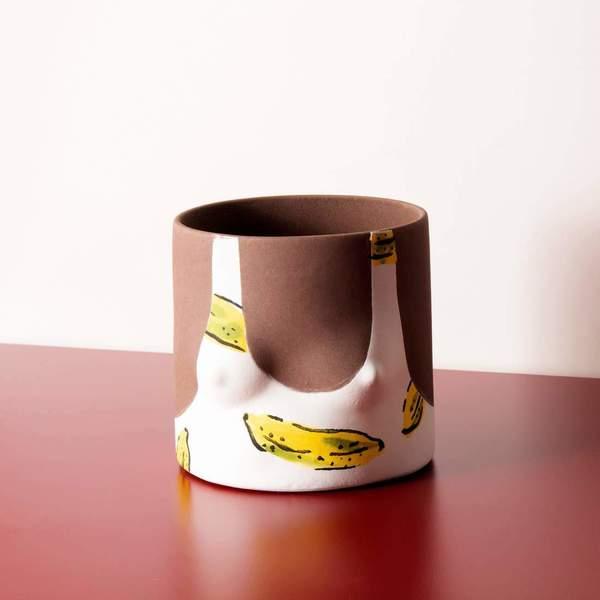 Group Partner Classic Tops Pot - Dark Tone/Bananas