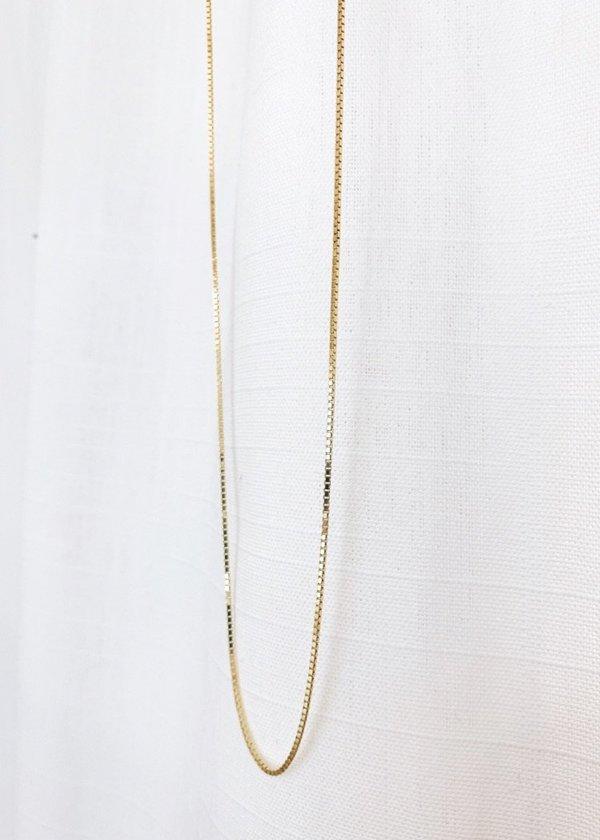 Always Coco Adjustable box chain, 24 gold