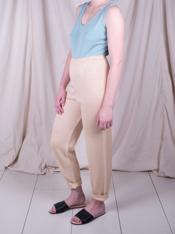 DUO NYC Vintage Knit Lounge Pants