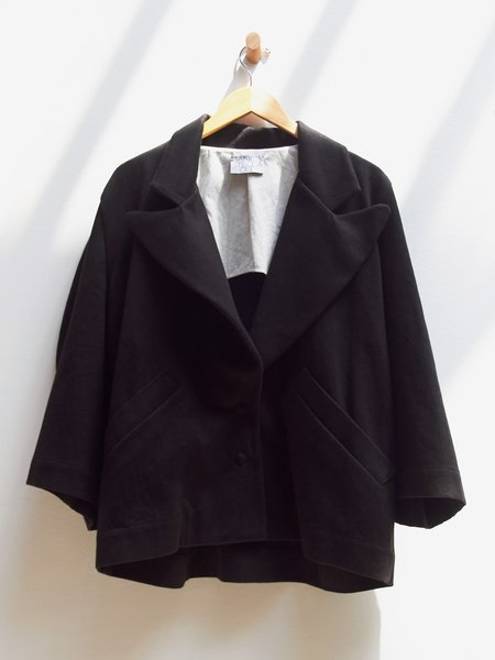 Nancy Stella Soto Round Sleeve Jacket - Black