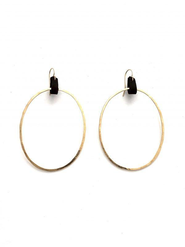 CLP Extra Large Hoops - Sterling Silver