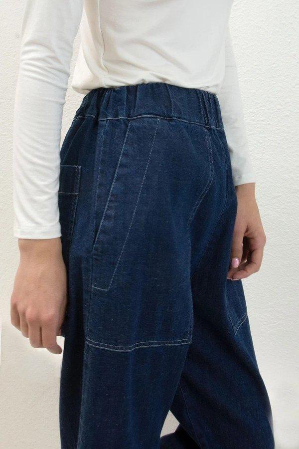Micaela Greg True Utility Pant - Indigo