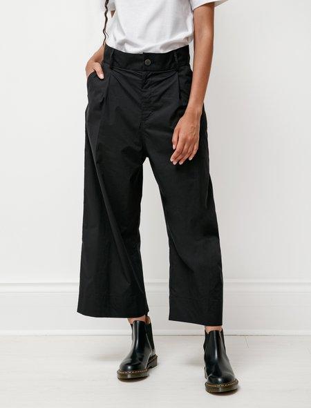 Studio Nicholson Greta Ultrafine Cotton Trousers - Black