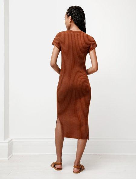 Studio Nicholson Pretoria Knit Dress - Brick
