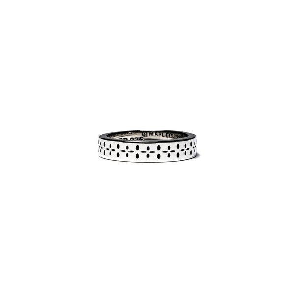 MAPLE Bandana Ring - Silver