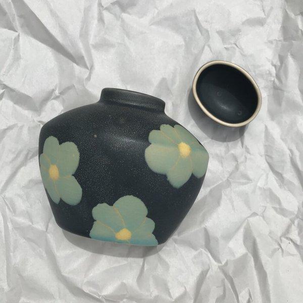 Vintage Flower Vessel