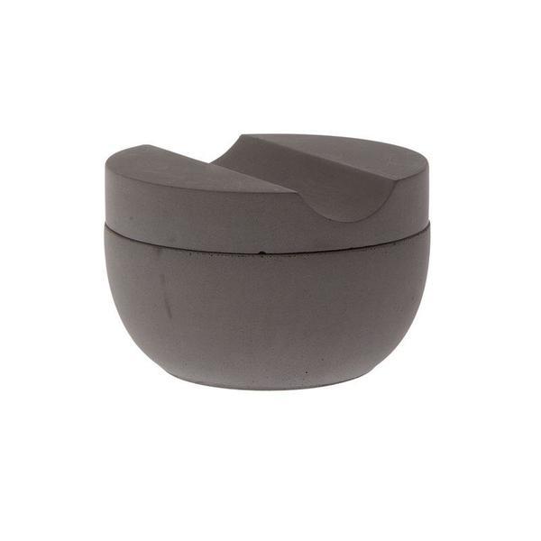 Iris Hantverk Shaving Cup W/ Cedar Soap - Grey Concrete