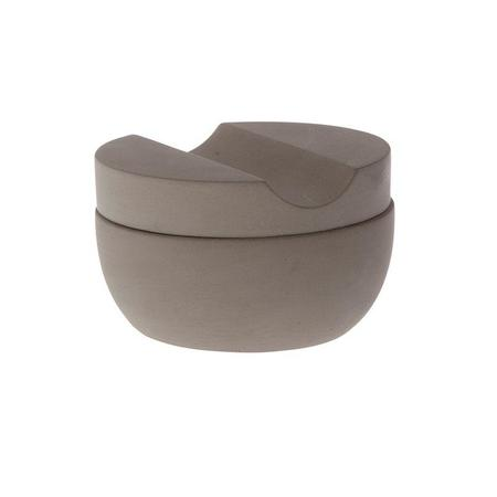 Iris Hantverk Shaving Cup W/ Cedar Soap - Natural Concrete