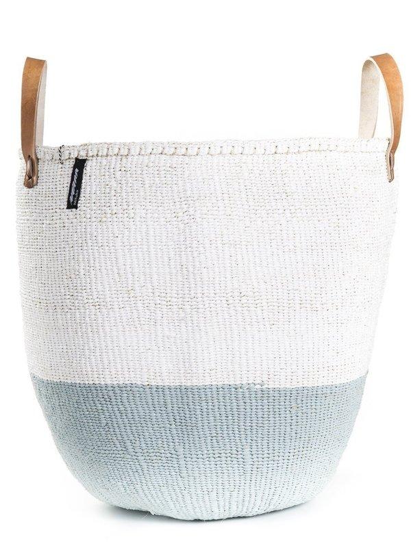 Mifuko Kiondo Large Basket - Light Blue