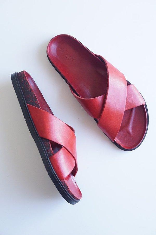 Brador Nami Sandal - Red