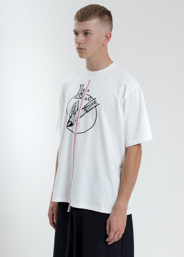 Komakino Boxy Fit T-Shirt - White