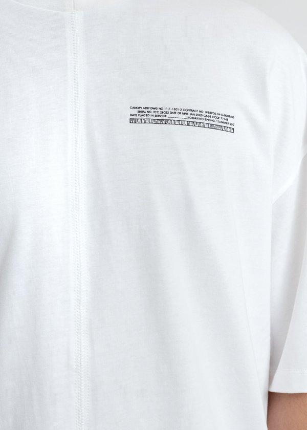 Komakino Loose Fit T-Shirt - White