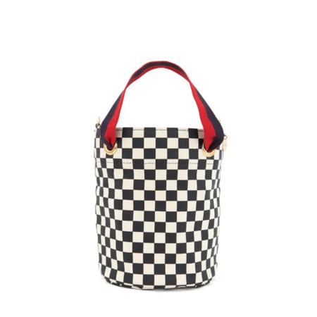 Clare V. Checker Petite Baleine Bag