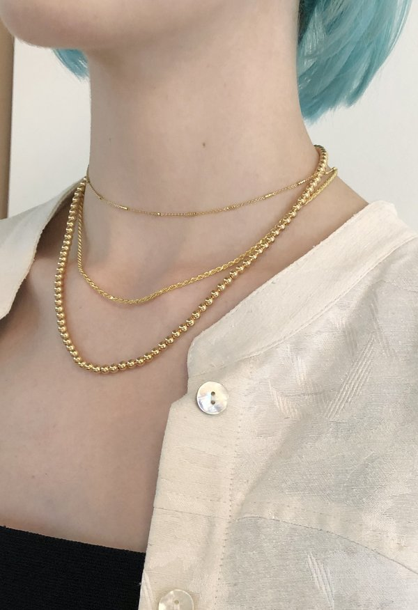 Nicole Kwon Concept Store Vermeil Twisted Chain - 14k Gold