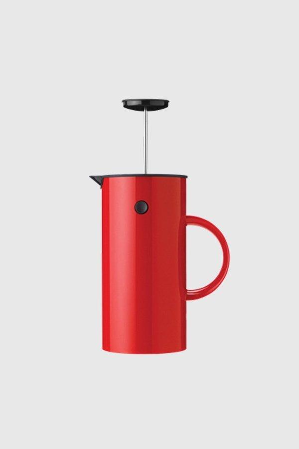 Stelton EM Press Coffee Maker - Red