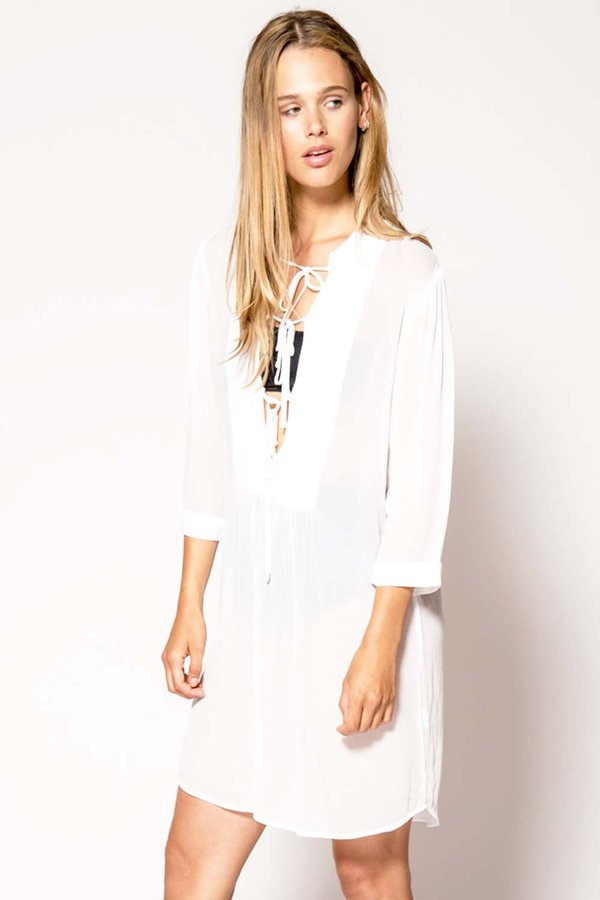 Lacausa Folklore Tunic - White