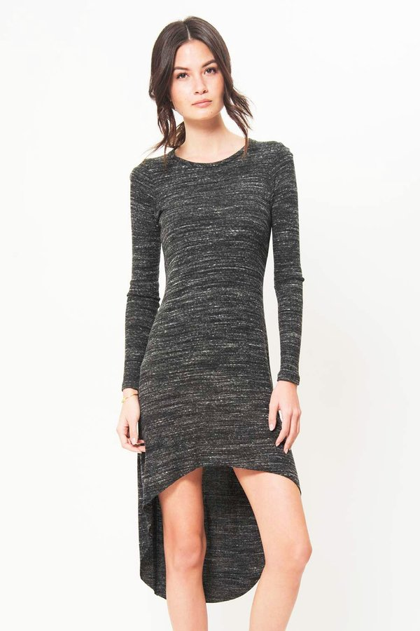Sen Mason Hi-lo Dress - Grey