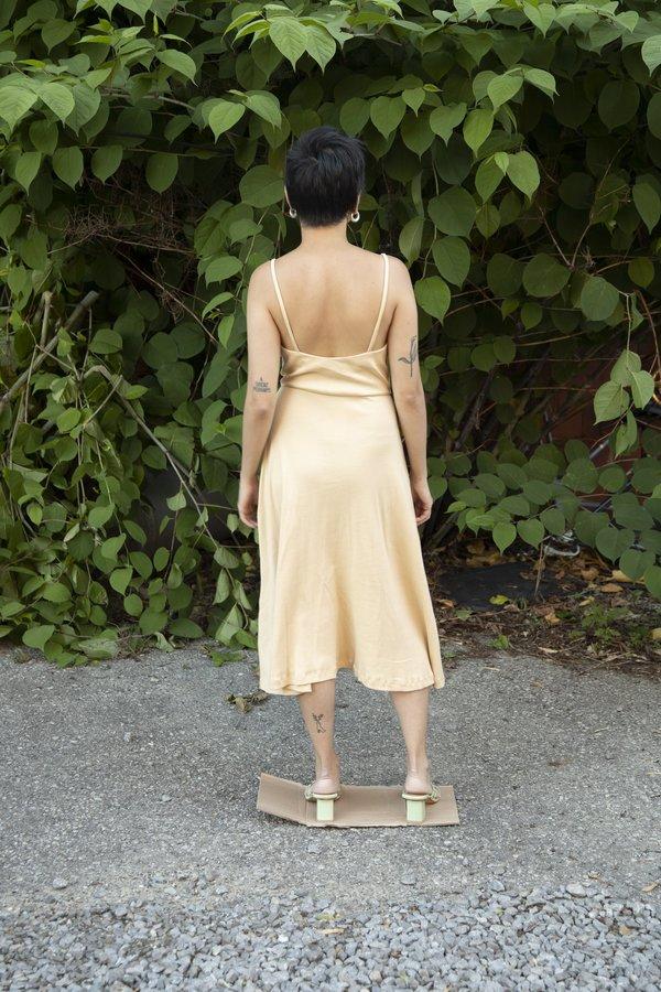 everythingisease Gwen Knit Dress - Beige