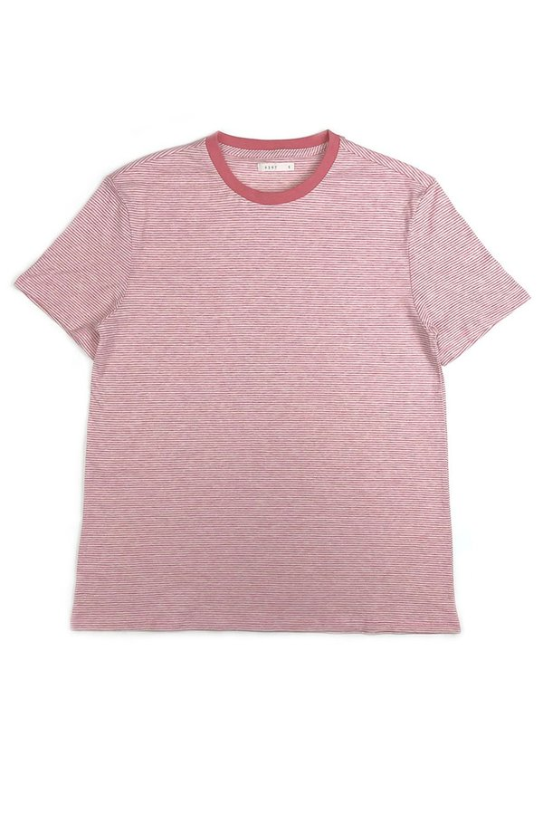6397 Boy Tee - Pink Stripe