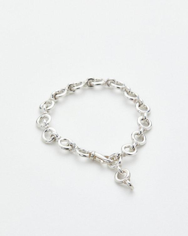 Luz Oritz Park Chain Bracelet - Silver
