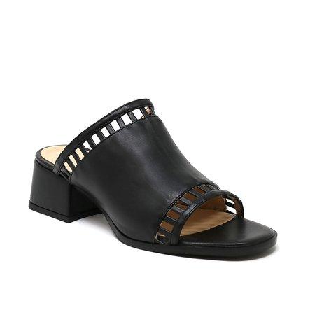 Sylven New York SAGE Sandal - black vegan nappa
