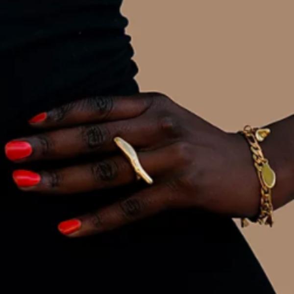 Watersandstone Beach Charms Bracelet - Brass