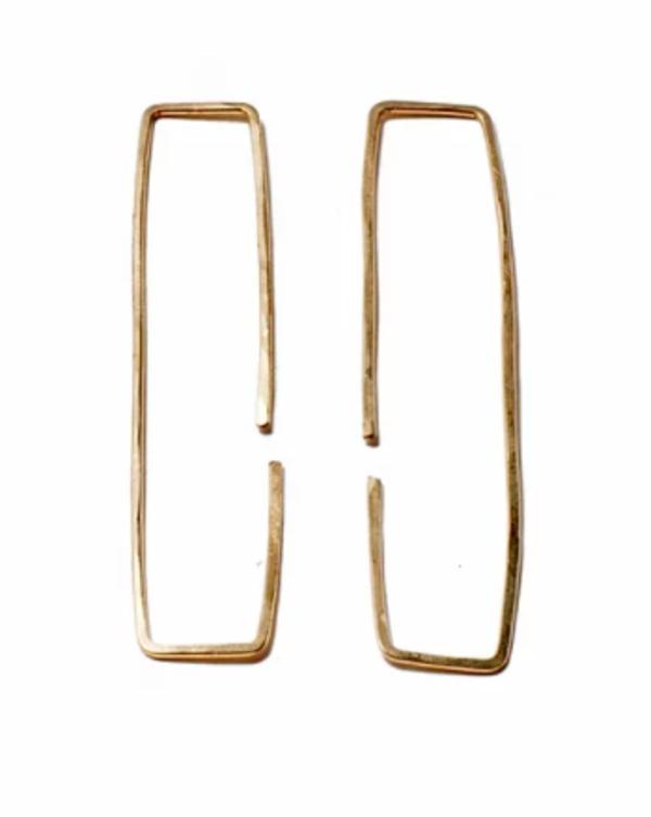 Watersandstone Passage Earrings - Gold
