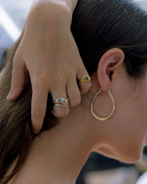 Common Muse Tilda Hoop Earrings - Gold