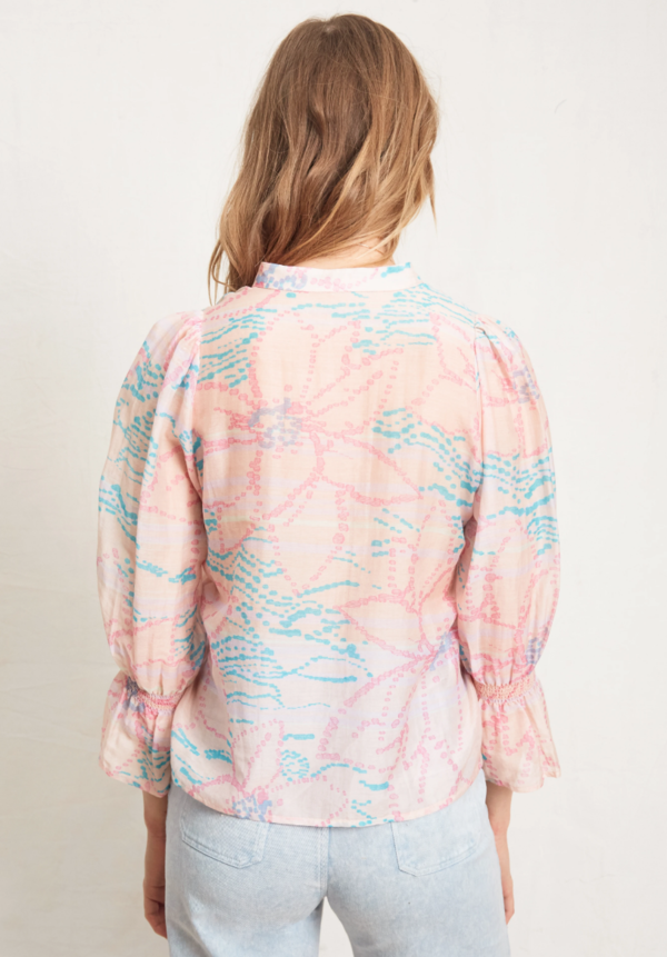 Warm Francesca Blouse - Magic Hour