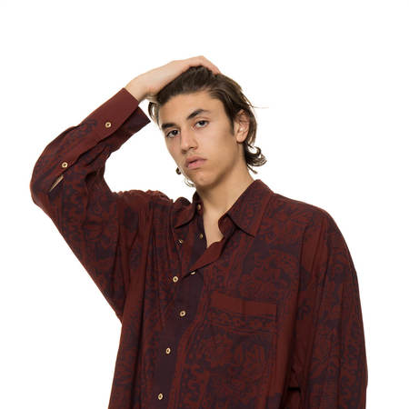 MAGLIANO Twisted shirt - red