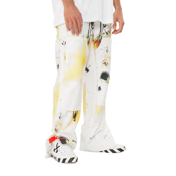 OFF-WHITE Futura Abstract Carpenter Pants
