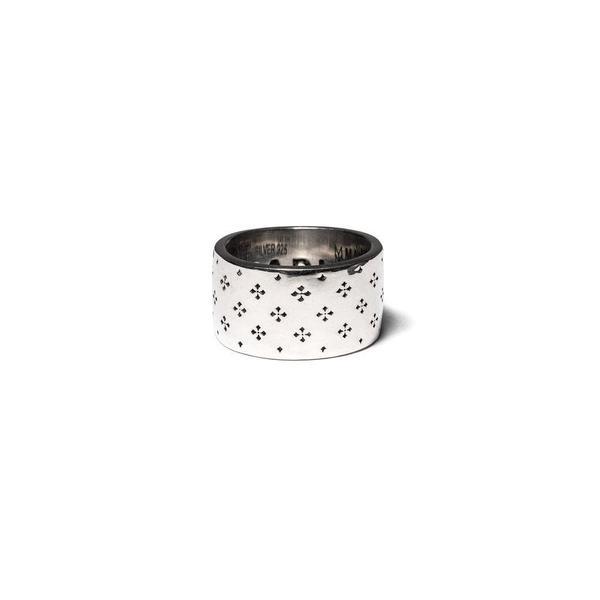 Maple Iron Cross Ring - Silver 925
