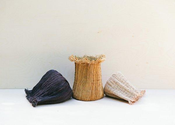 Territory Tassel Basket - Golden